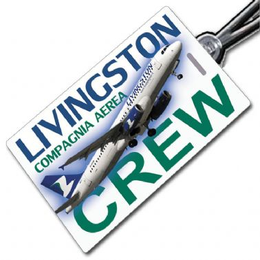 Livingston A320 Crew Tag